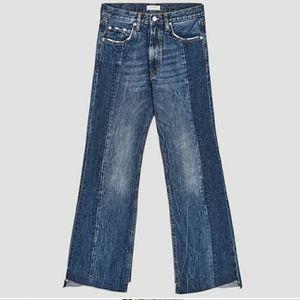 NWT ZARA The Real Slim Flare Jean Size 4